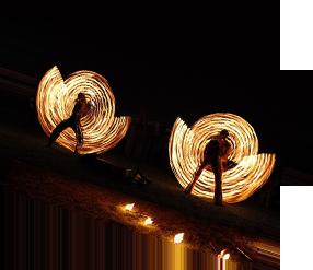 Feuershow Berlin Inflammati