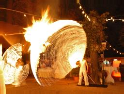Feuershow Sachsen Inflammati