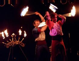 Feuershow Brandenburg Inflammati