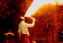 7- Feuerspucken und grandiose Akrobatik bieten inflammati auf heisser Safari