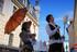 11Im Biedermeier Kostüm auf  Stelzen bringt Inflammati Nostalgisches Flair nach Bielefeld, Lage, Bad Salzuflen, Paderborn und Osnabrück mit dem Walkact Nostalgie-1