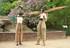 2 Zum Nostalgiefest im Zoo und Gründerzeit Jubiläum kommen Gustav und Schorsch unsere authentischen Abenteurer auf Stelzen