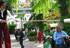 3 Der Lampenputzer und Schusterjunge auf Stelzen unterhält interaktiv  auf dem Nostalgiemarkt und Jubiläum in Berlin, Potsdam, Stralsund, Brandenburg, Magdeburg und Hannover